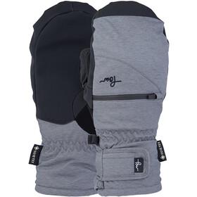 POW Cascadia GTX Short Mitt +Warm Handschuhe Damen grey